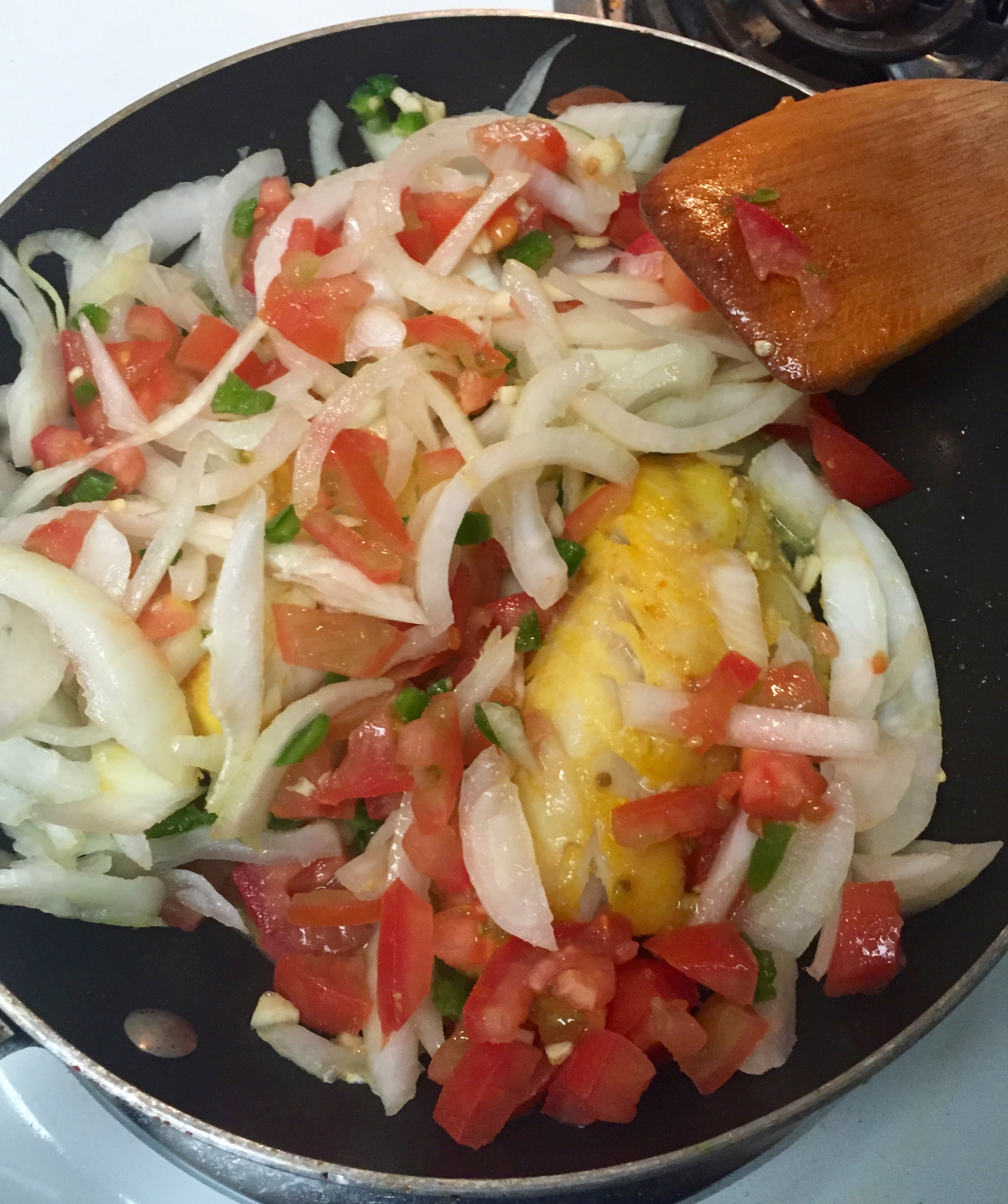 ... with Roasted Plantains and Tomato Jalepeño Salsa | A Girl & A Garnish